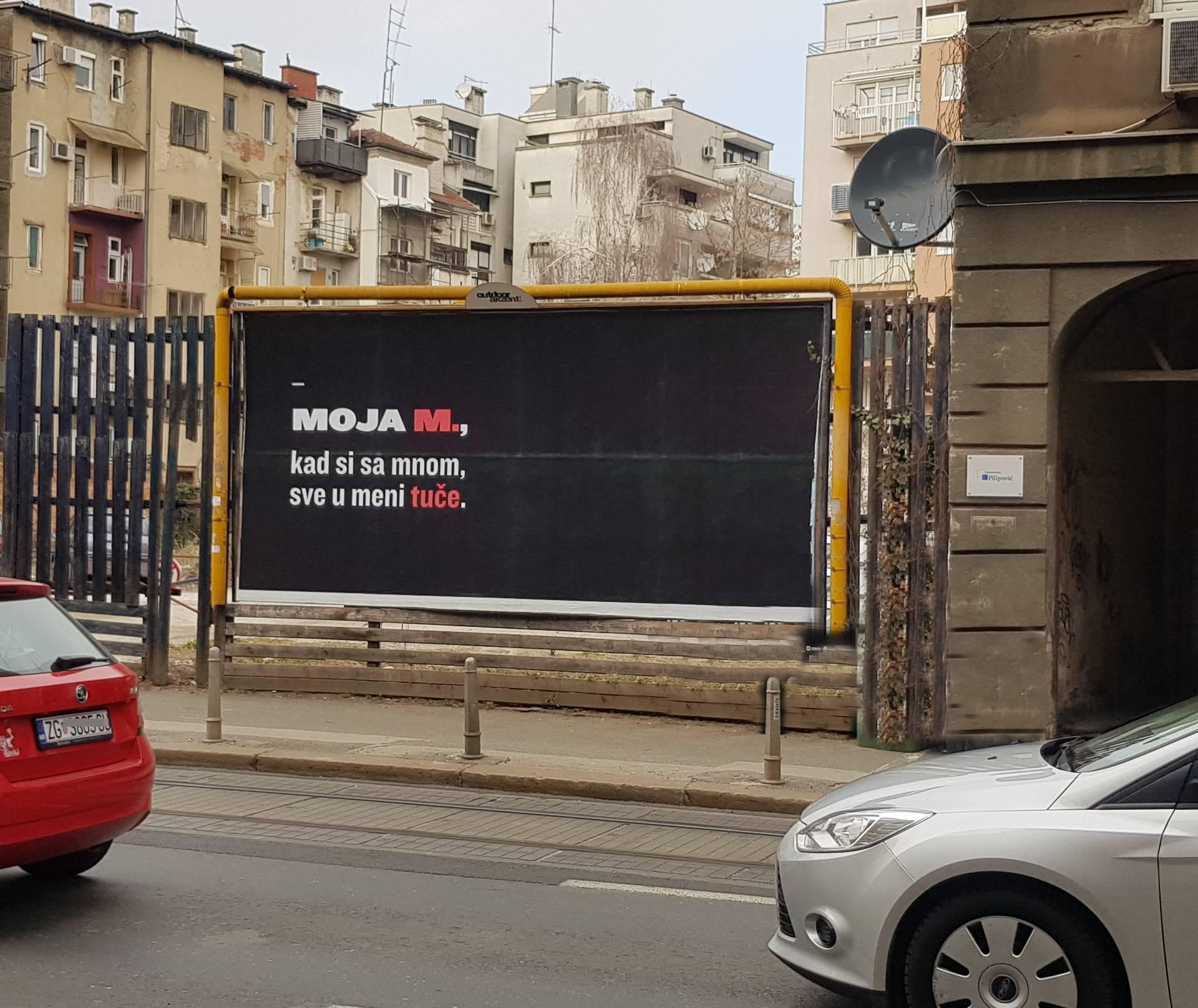 Tko je tajanstvena M. kojoj su posvećene poruke u Zagrebu?
