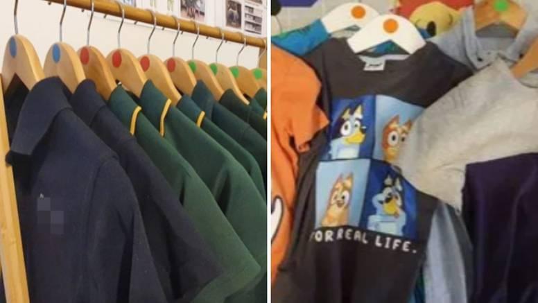 Osmislila točkasti sustav za organiziranje odjeće svoje djece - sada se zna kome što pripada