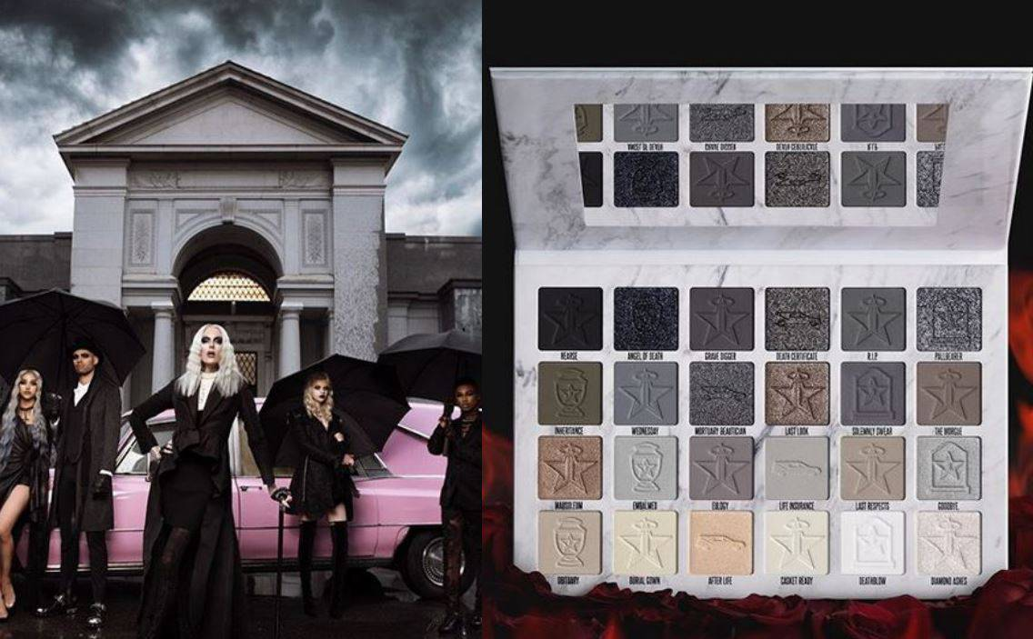 Jeffree Star predstavio dark make-up paletu 'Kremirana'