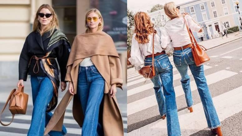 Široke traperice: 10 odličnih ideja kako nositi denim sezone