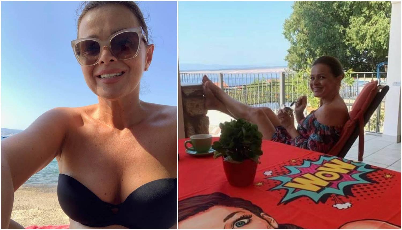 Sandra Bagarić je pozirala na plaži u kupaćem: 'Glumim ljeto'