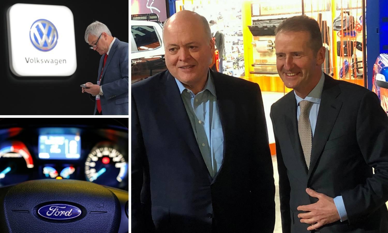 Ford i VW gradit će kombije i terence, uštedjet će milijarde