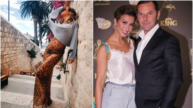 Ani se u leopard haljini nazirao trbuščić: 'Hvala štoste mi javili da sam trudna, nisam znala...'