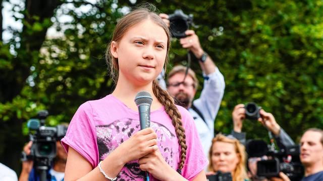 Klimatska aktivistica Greta Thunberg
