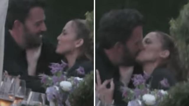 Uhvaćeni: J.Lo i Ben se strasno ljubakali i dodirivali u restoranu