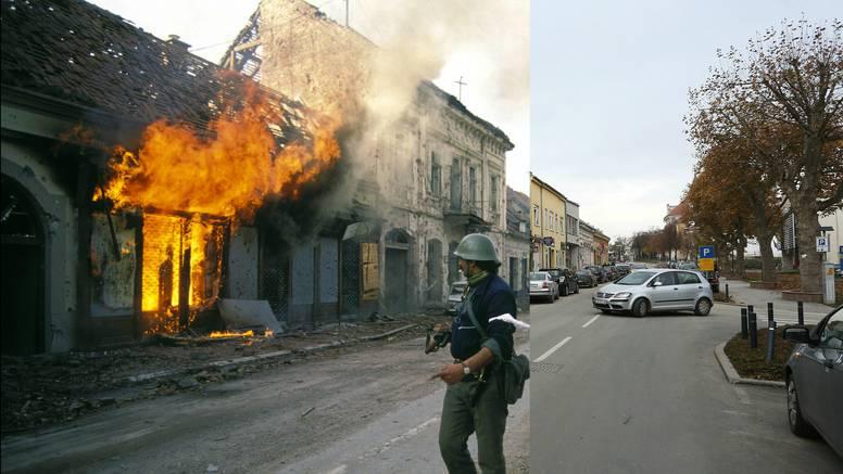 Pogledajte šokantne fotografije Vukovara 1991. godine  i danas