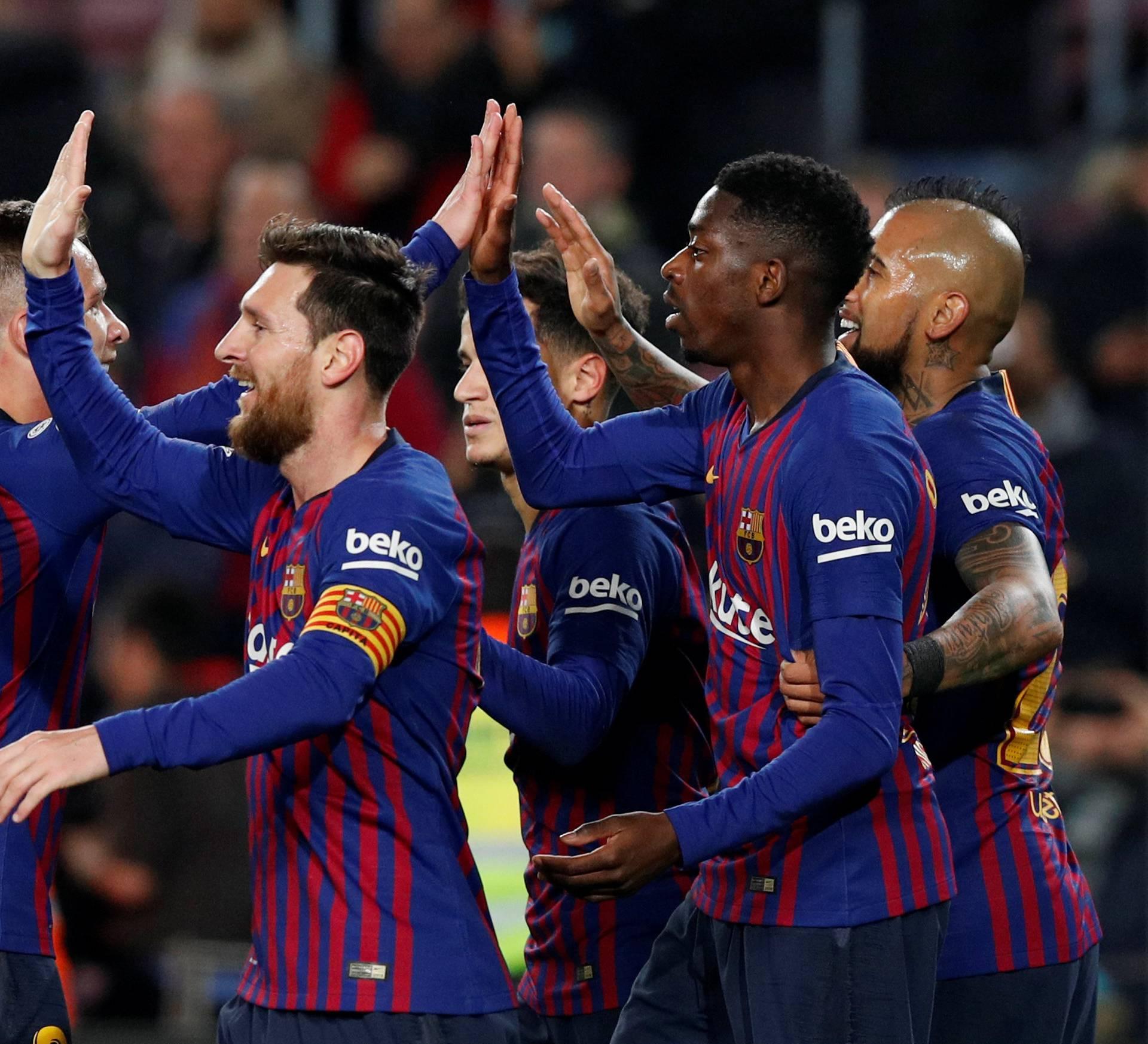 Copa del Rey - Round of 16 - Second Leg - FC Barcelona v Levante