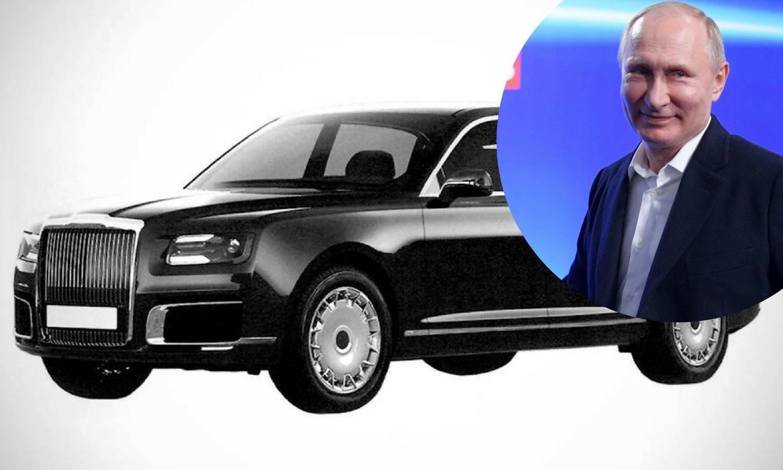 Putinovu limuzinu od sljedeće godine kupovat će obični Rusi