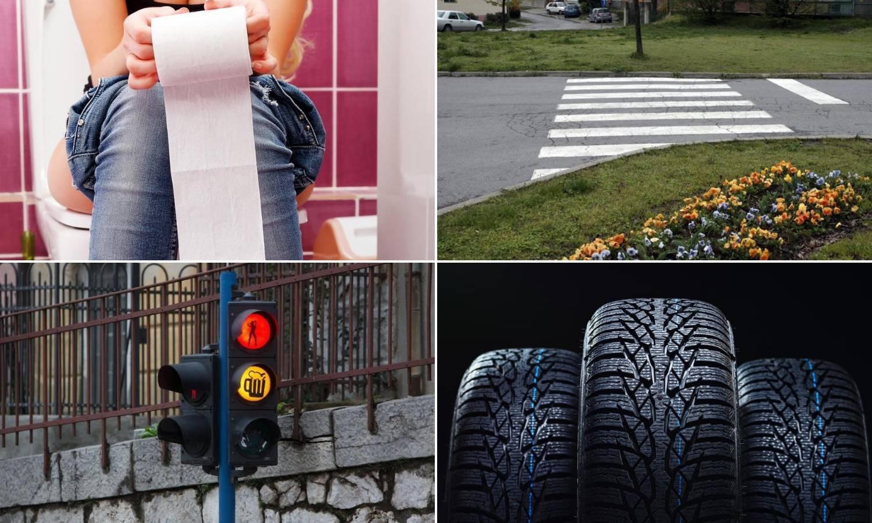 Automobilske gume su crne, a WC papir bijel - znate li zašto?