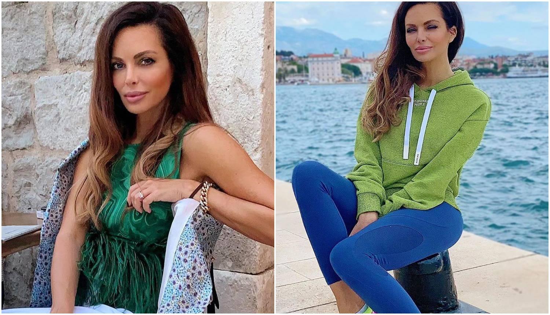 Nikolina 'skoknula' do Splita pa je pozirala u sportskom outfitu: Nosila je tenisice od 2500 kuna
