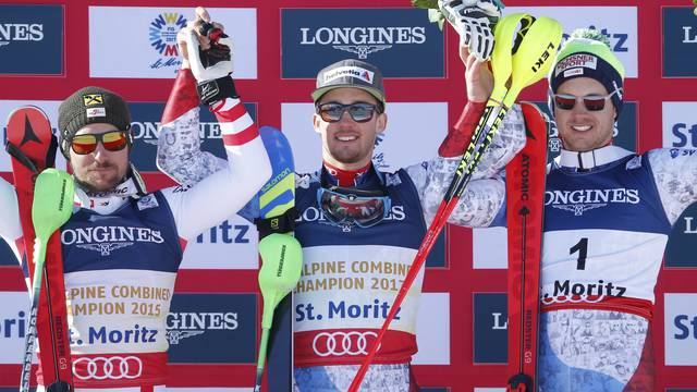 Alpine Skiing - FIS Alpine Skiing World Championships St. Moritz - Men's Alpine Combined - Slalom