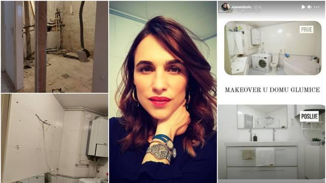 Glumica renovira stan uz pomoć dizajnerice Mirjane Mikulec, a pohvalila se fotkama kupaonice