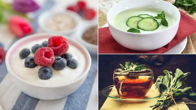 Ohladite se iznutra: Čaj,  jogurt i juhe pomažu preživjeti  vrućine