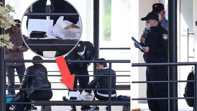 FOTO Pogledajte kako policajac daje prekršajnu prijavu ocu dječaka, opet je nije htio primiti