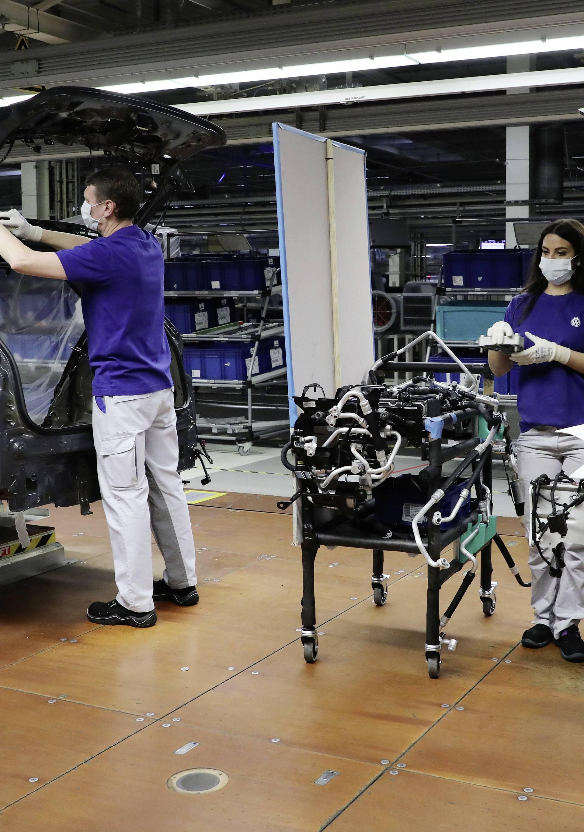 VW opet pokreće proizvodnju uz posebne antivirusne mjere