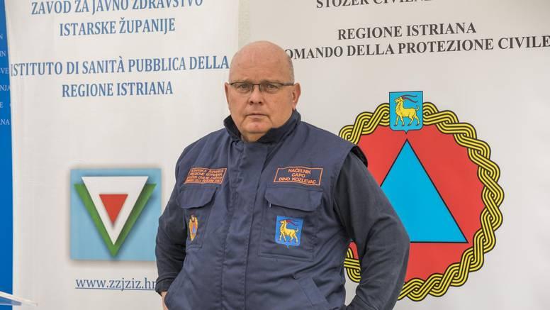 Kozlevac o rastu broja oboljelih u Istri: Frustrira nas, pokušat ćemo se braniti novim mjerama