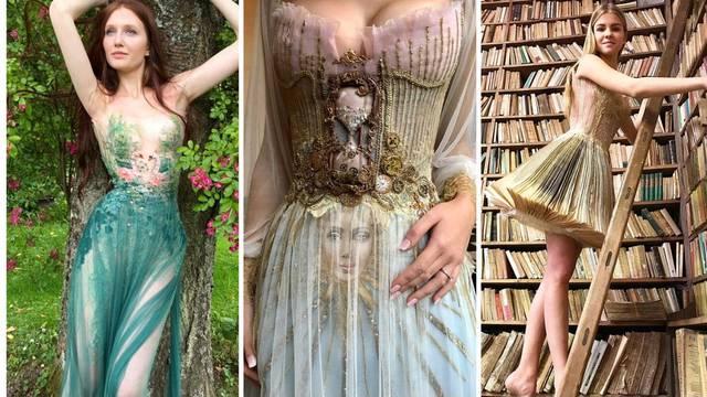 Kreacije francuske dizajnerice: Ovakve haljine još niste vidjeli