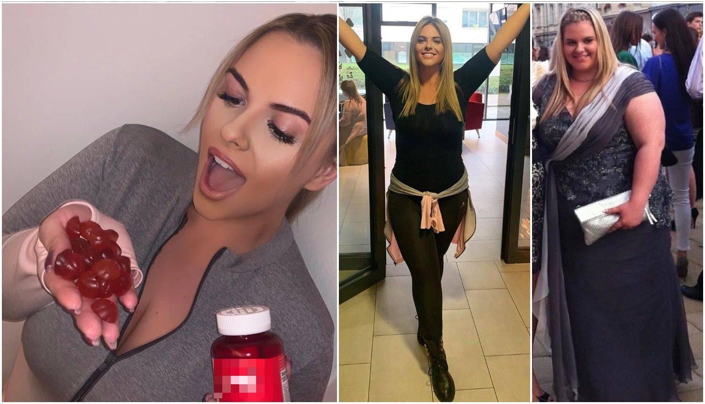 Nina Martina nosi šest brojeva manju odjeća: Pomažu bomboni