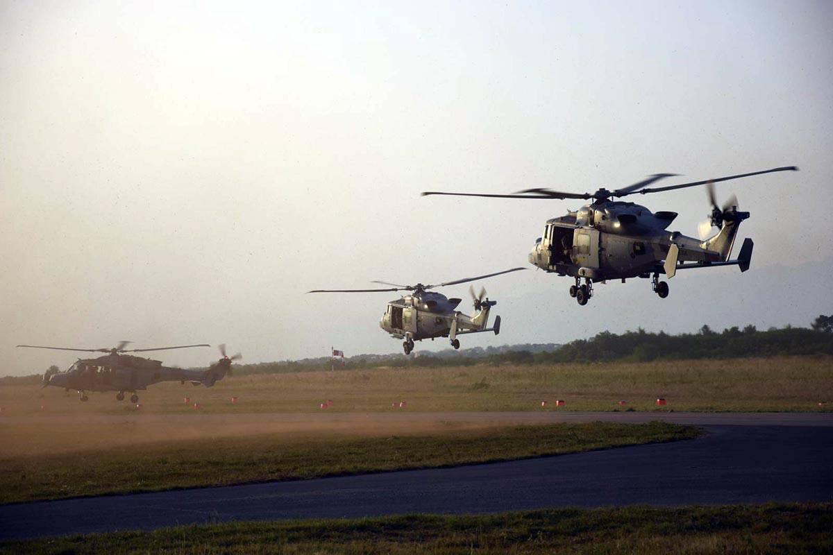 Britanske i francuske zračne snage stigle u Zemunik na vježbu Swift Response 2019.