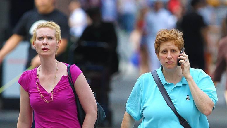 Cynthia Nixon o supruzi: Ona je kao malo muško s grudima