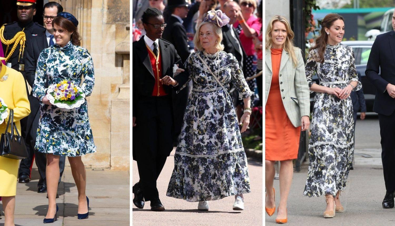 Kate, Eugenie i Katherine nose haljinu vrijednu 20.000 kuna...