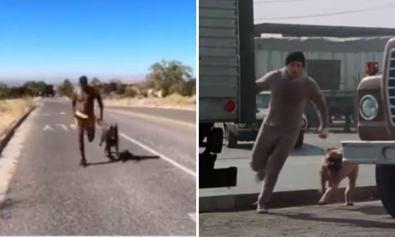 Jones se priprema za Stipu kao Rocky za Apolla: Trči sa psom