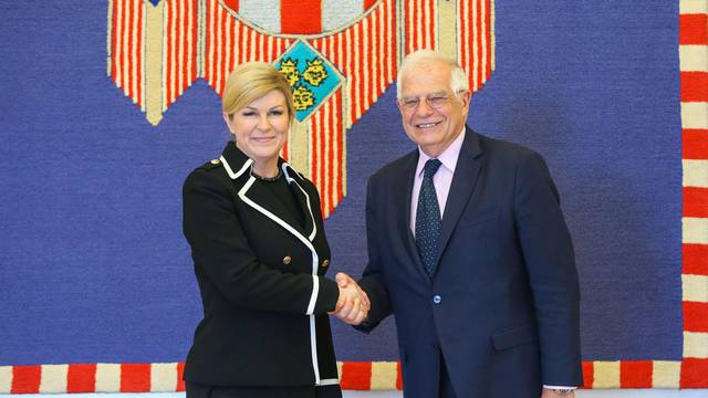 Zagreb: Predsjednica primila Å¡panjolskog ministra vanjskih poslova Borrella