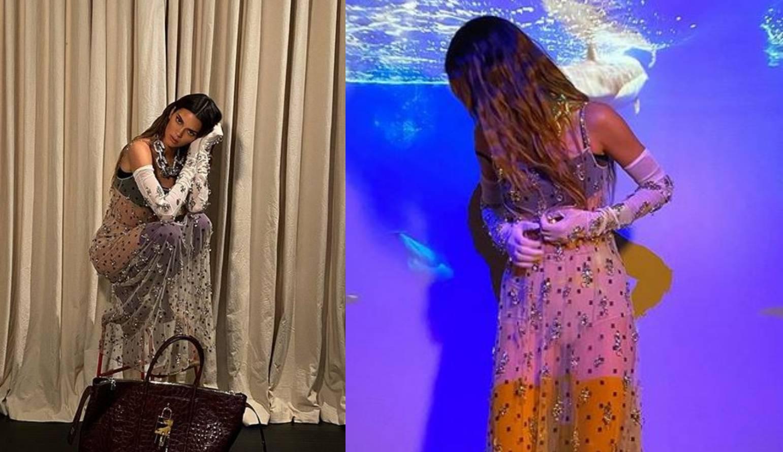 Kendall Jenner ima novi favorit: Prozirna haljina s kristalima
