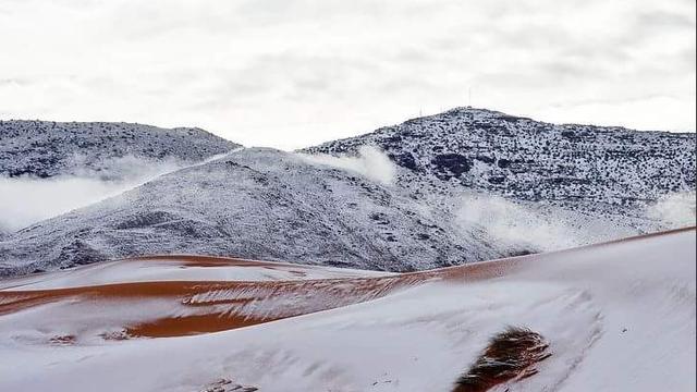 Sahara opet u bijelom: Snijeg pao već drugi put ove godine...
