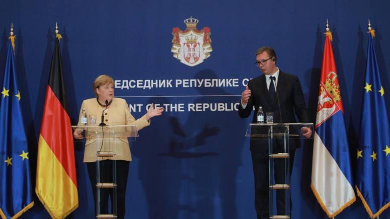 Merkel u posjetu Srbiji: 'U Vučiću sam prepoznala čovjeka koji ne daje lažna obećanja'