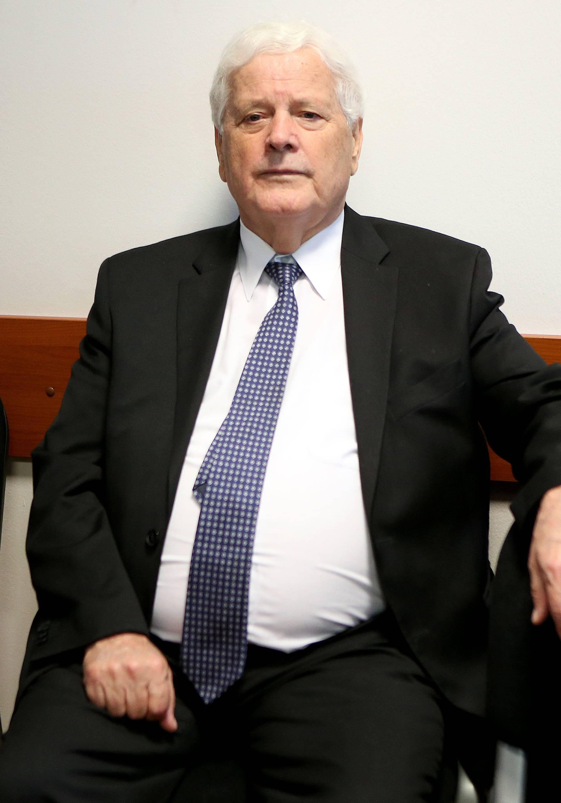 Babo u Zagrebu svjedočio na sudu na suđenju sinu Ervinu