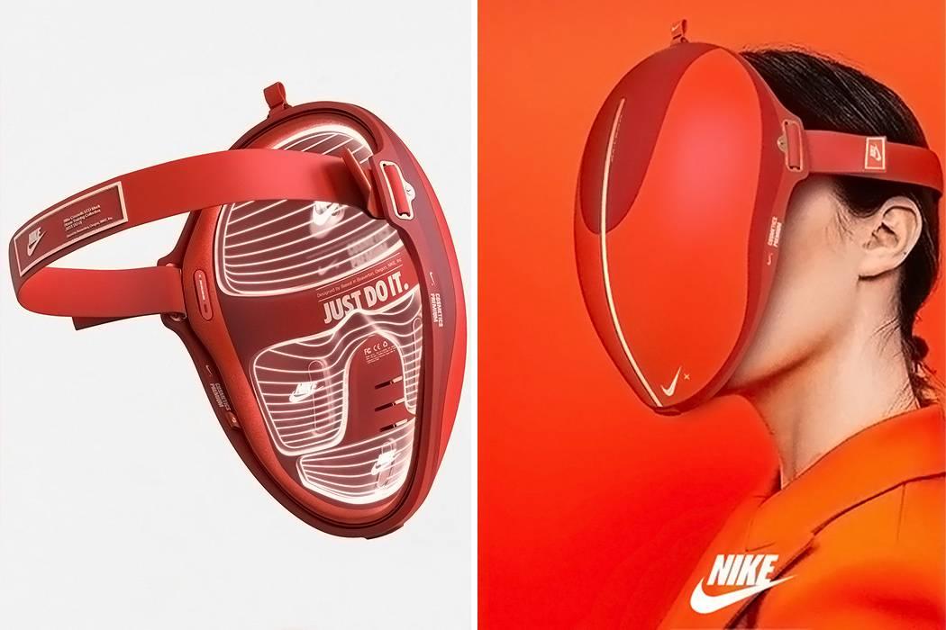 Koncept budućnosti: Kućna anti-age LED maska koja štiti