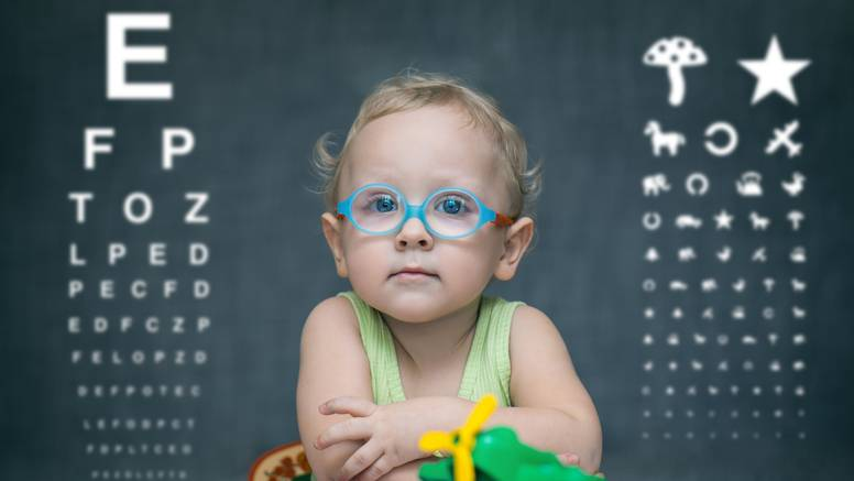 Nacionalni Dan Ambliopije - rani pregled otkriva slabovidnost kod mališana predškolske dobi