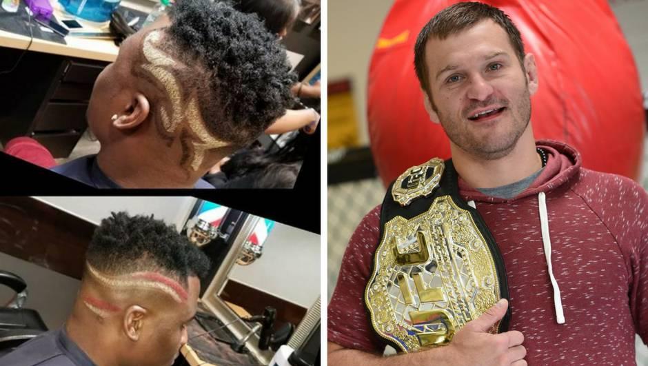 Zec je još u šumi, a Ngannou si napravio šampionsku frizuru...