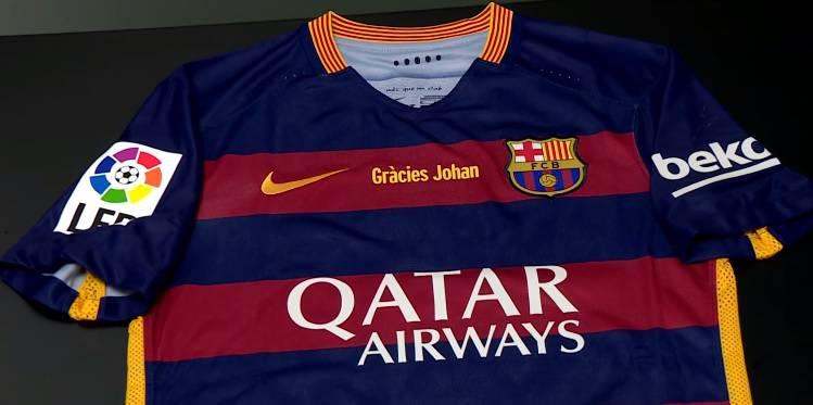 Posebni dresovi za Johana: On bi više volio da mi pobijedimo