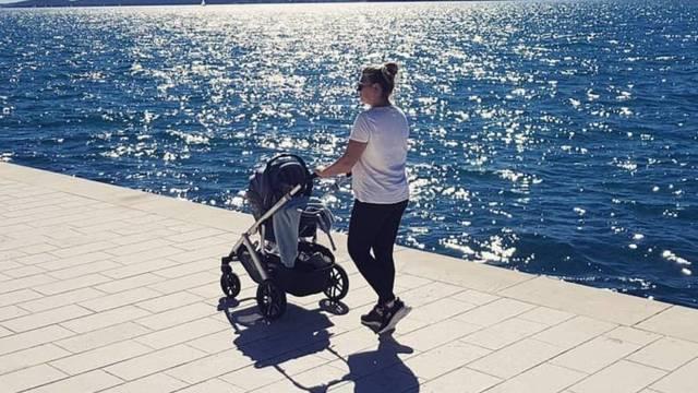 Goga izvela sina u šetnju nakon selidbe u Zadar: 'Gušti su gušti'
