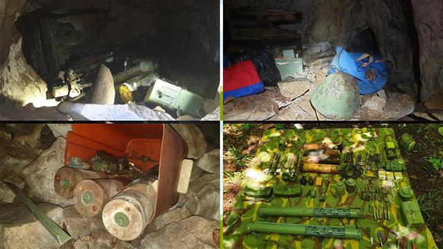 Policija uklanjala eksploziv iz speleoloških objekata u Lici...