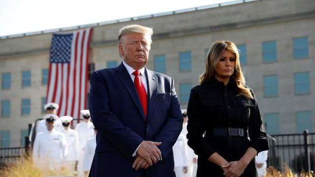 Trump prijetio talibanima na obljetnici napada na Ameriku