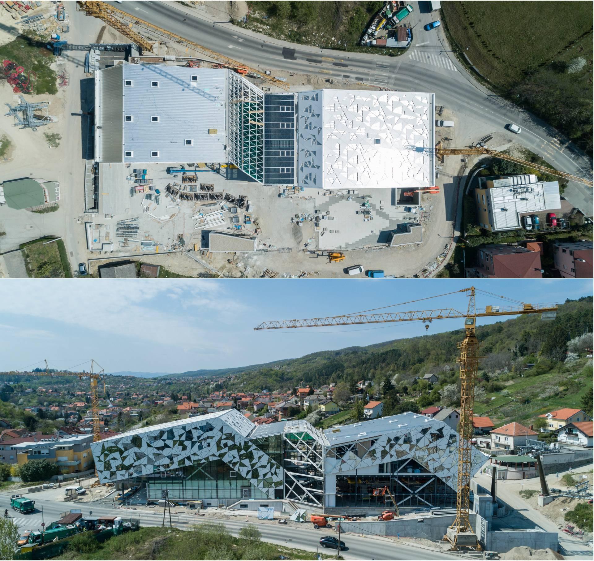Fotografije iz zraka: Evo gdje je stala gradnja sljemenske žičare