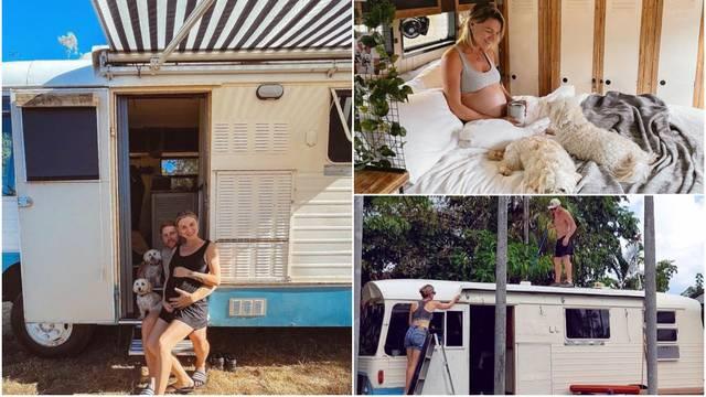Žive u autobusu: 'Predivno nam je, putujemo i čekamo bebu'
