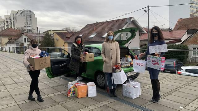 Zaposlenici HEP Opskrbe darovali djecu koja će Božić provesti u bolnicama