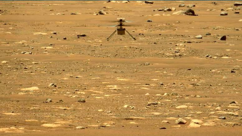 Nakon šest mjeseci na Marsu, mali Ingenuity i dalje leti