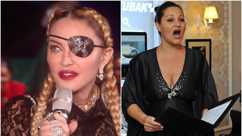 Tomčić je prozvala Madonnu: 'Kraljica je u falšu i dok govori'