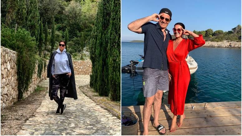 Nina pokazala rezidenciju na Hvaru, a Goran Višnjić odmah reagirao: 'Poznato mi dvorište'