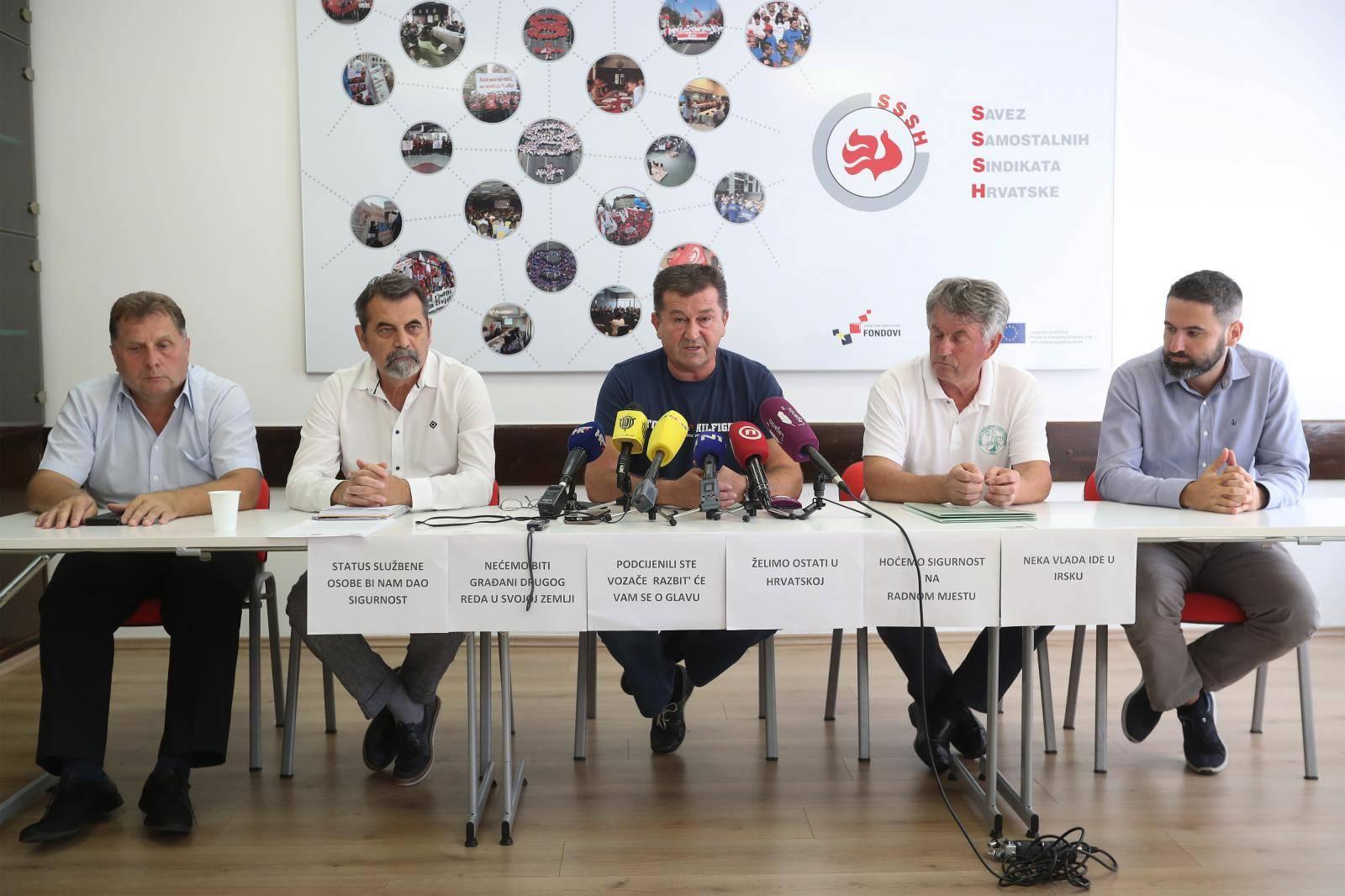 Zagreb: Sindikat vozača najavio obustavu rada u petak