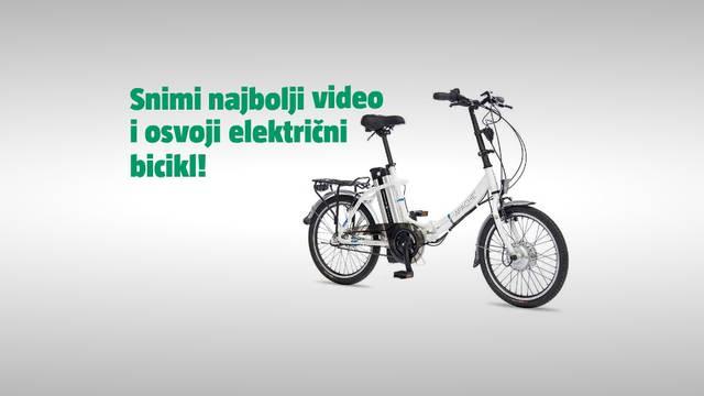 Snimite najbolji video i osvojite fantastični e-bike