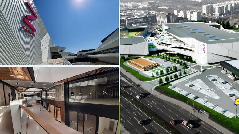 U Zagrebu se za deset dana otvara novi trgovački centar: Ovako će izgledati Z centar