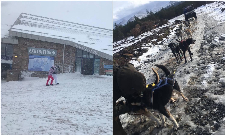 Britansko skijalište i vožnje psima propadaju, nema snijega