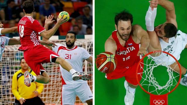 Fantela i Marenić idu po zlato, luda noć uz rukomet i košarku