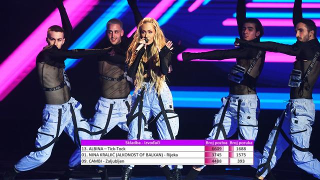 HRT objavio koliko glasova je stiglo za Albinu i ostale pjevače
